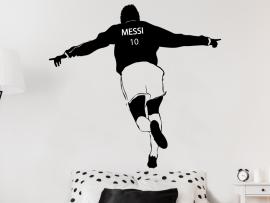autocolante vinil jogador de futebol golo