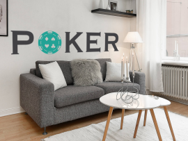 autocolante vinil poker star 2