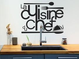 autocolante vinil cozinha do chef