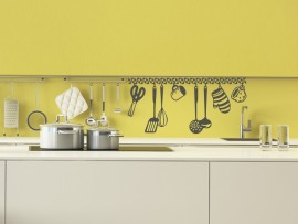 autocolante vinil utensilios cozinha