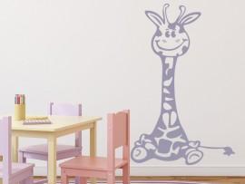 autocolante vinil girafa infantil